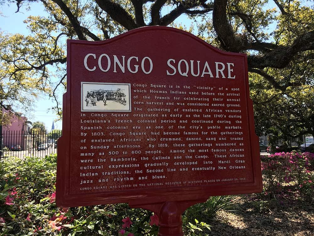 Congo Square - where jazz began