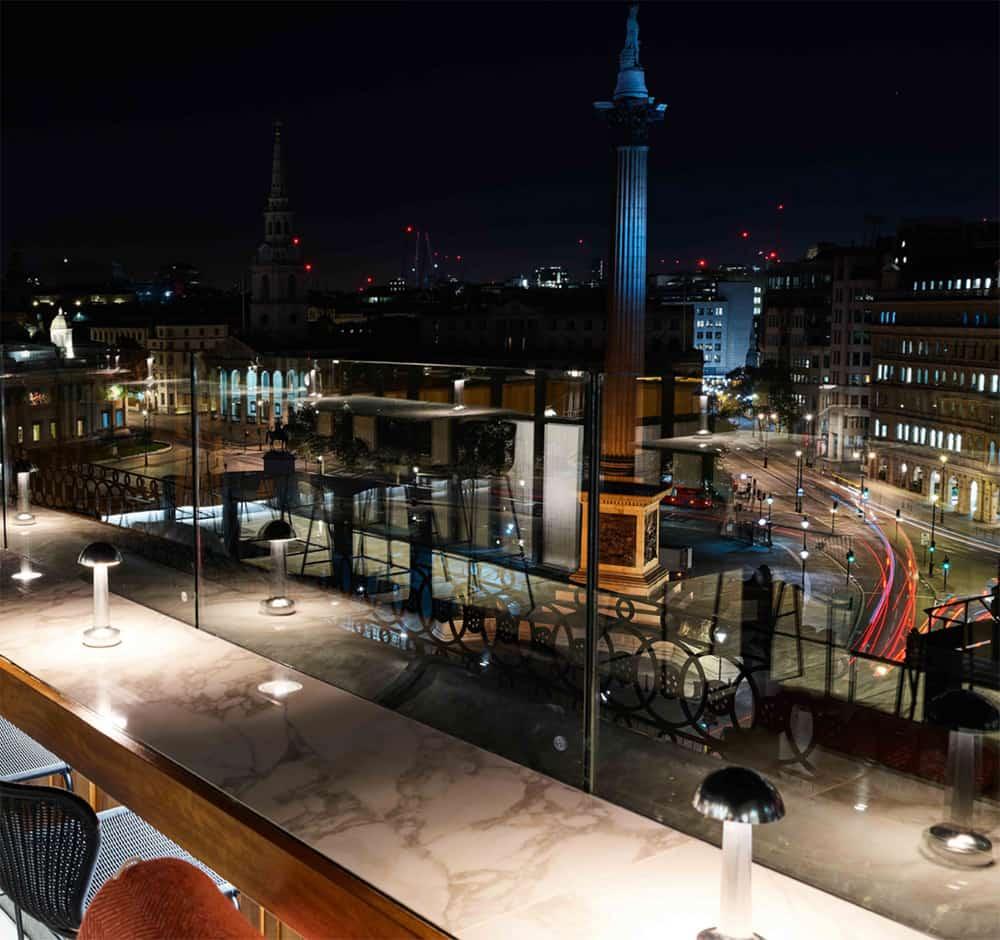 Rooftop London, Trafalgar Square