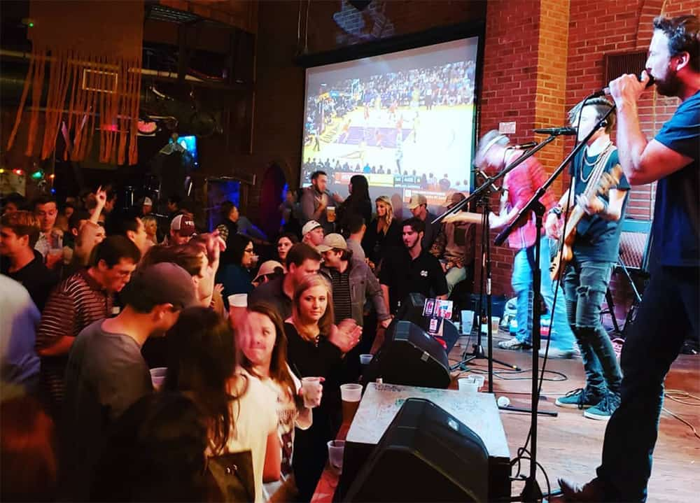Catch a game and live music at Tin Roof