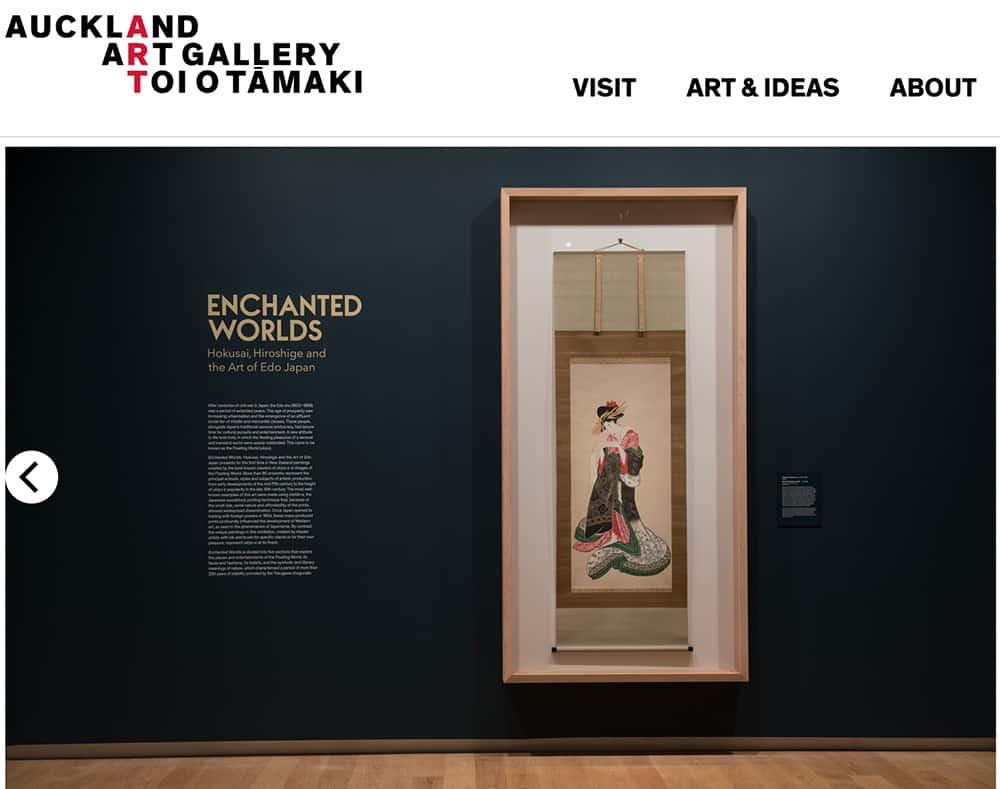 Auckland Art Gallery exhibit
