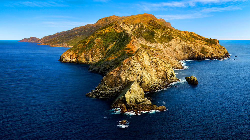 Catalina Island aerial pic