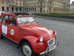 Explore Paris in a funny little Citroen