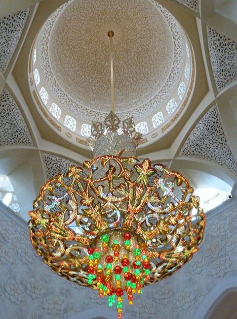 Abu Dhabi swarovski chandelier