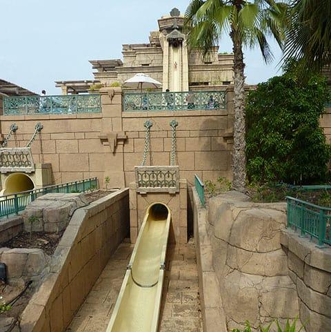 Aquaventure water slide