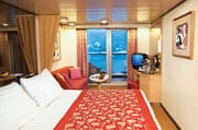 Westerdam balcony room