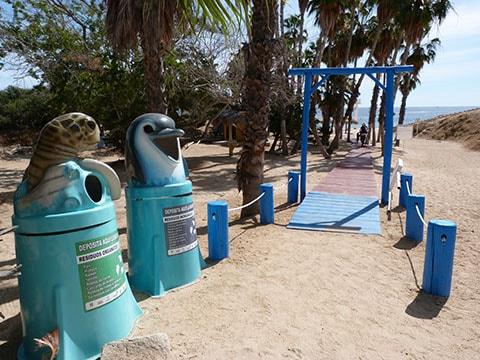 Mexico rubbish bins
