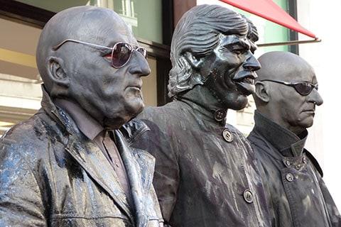 Black mimes Dublin