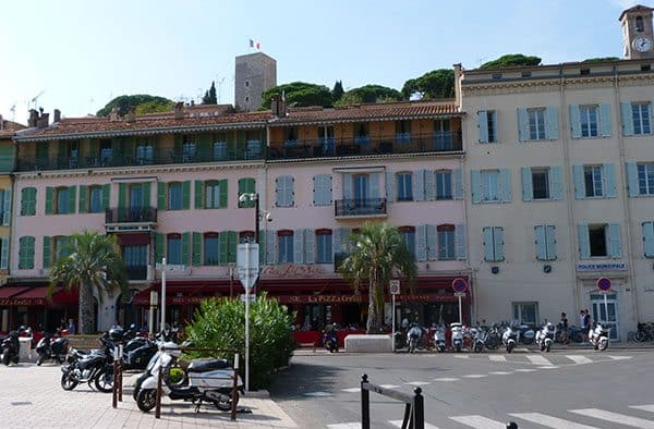 Cannes street front
