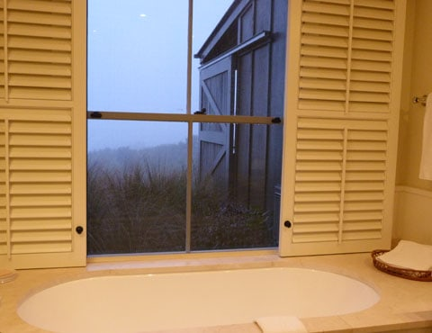 Cape Kidnappers bathroom
