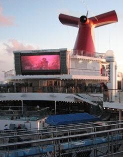 Carnival Liberty cinema