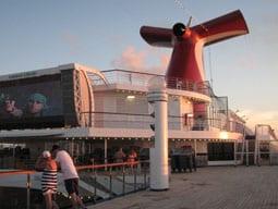 Carnival Liberty deck