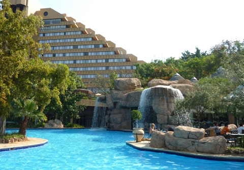 Cascades, Sun City, South Africa