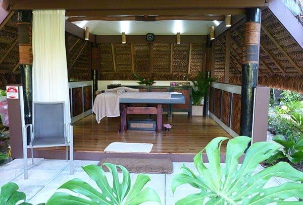 Castaway spa Fiji