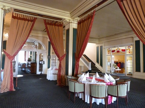 Chateau Tongariro ballroom