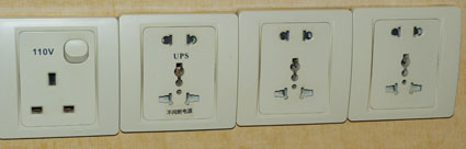 Chinese power plugs