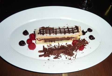 Gordon Ramsay's chocolate napoleon