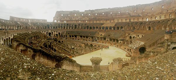 Rome Colosseum tips