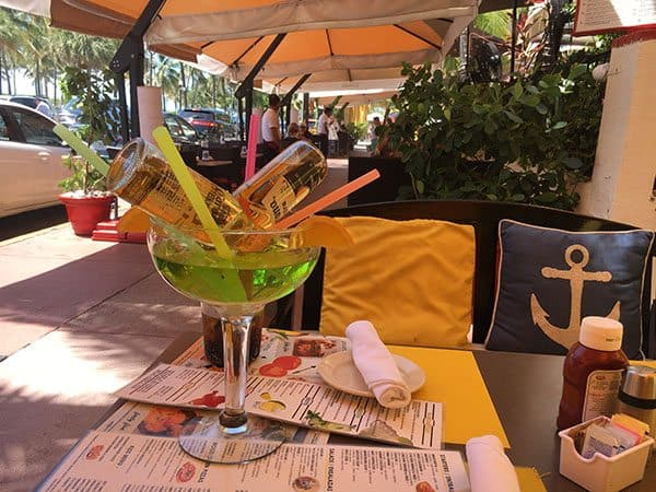 Huge cocktails Miami