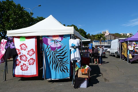 Craft market New Caledonia