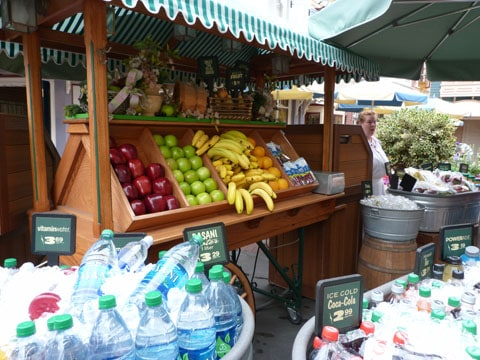 Disneyland fruit stall