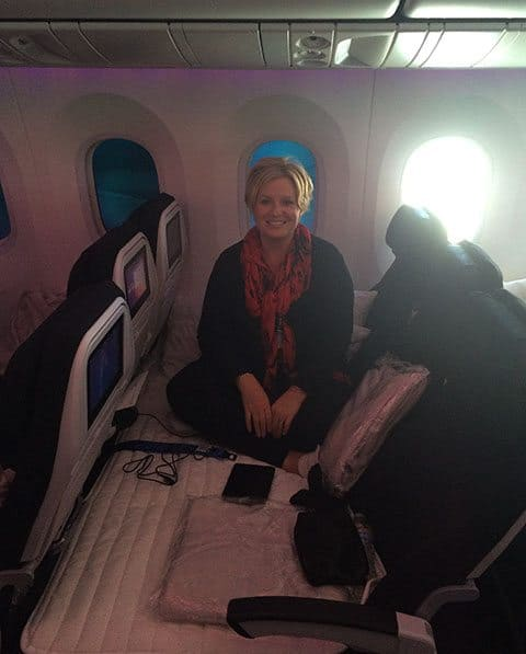 Air NZ mile high club