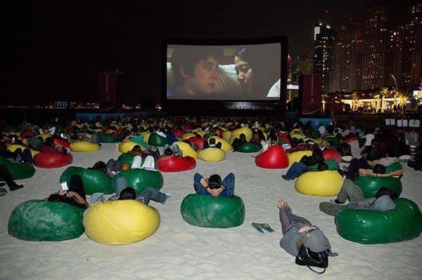 Dubai Film Fest at the Beach