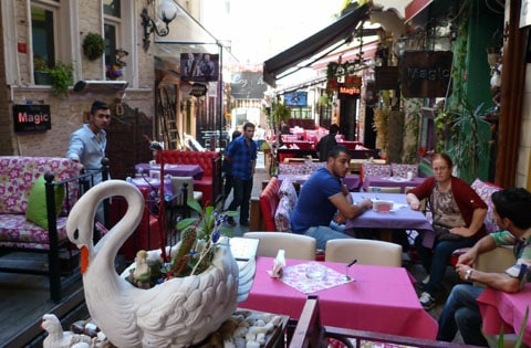 Eating in Istanbul
