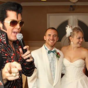 Graceland wedding chapel Vegas