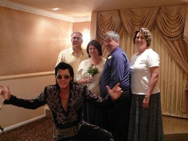 Elvis bey wedding