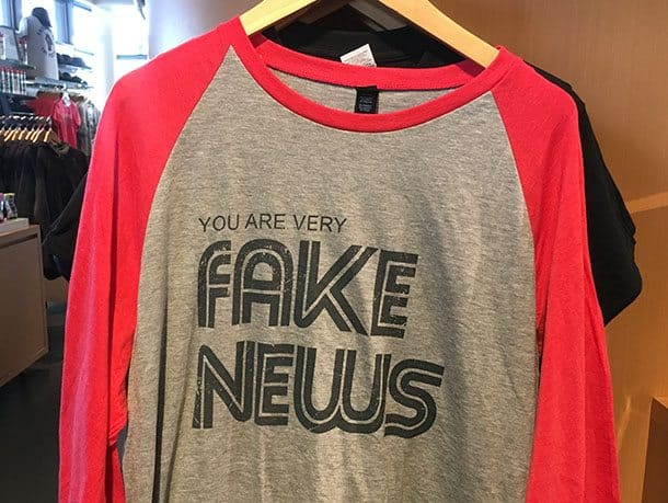 Fake News t shirt Washington DC