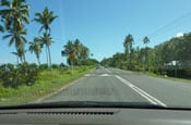 Fiji driving thumb
