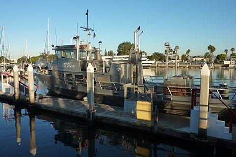 Marina del Rey sport fishing