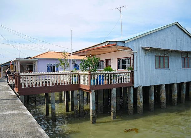 Fishing village house