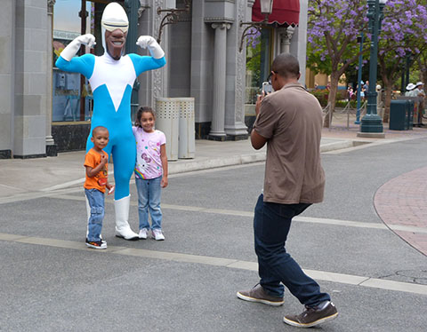Frozone California Adventure