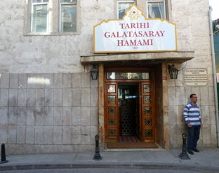 Galatasaray main entrance