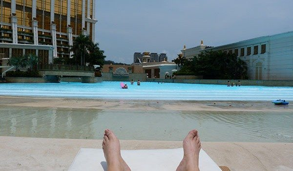 Banyan Tree wave pool Macau