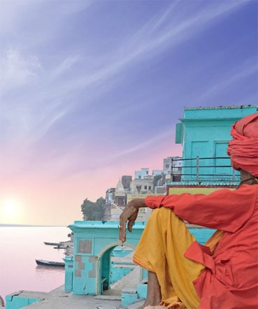 The Ganges sunset