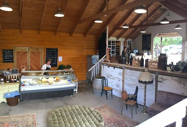 Goldie tasting room
