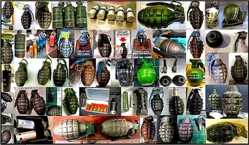 TSA airport grenades