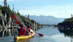 Holland America kayaking