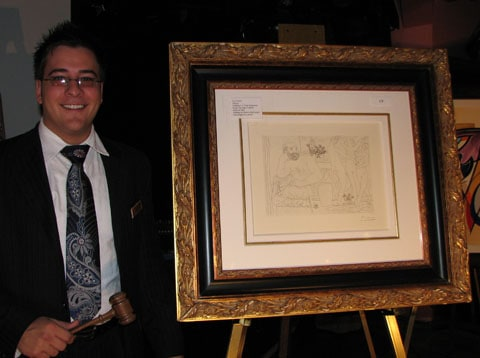 Carnival Liberty Art auction