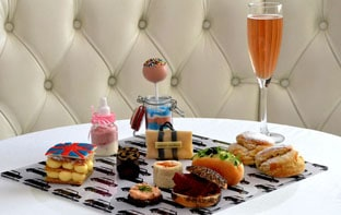 Harvey Nichols high tea