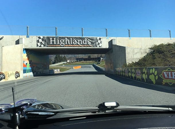 Highlands motorsport race track