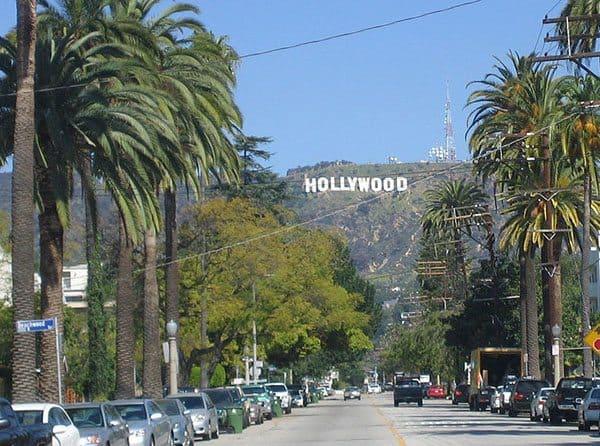 Hollywood celebrity spotting