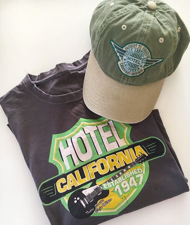 Fake Hotel California merchandise