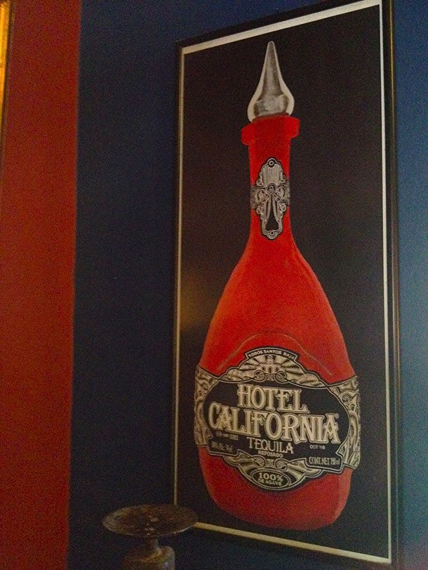 Hotel California art work