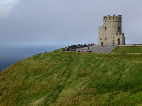 Ireland roadie castle of Mohar