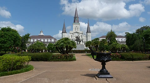 Jackson Sq New Orleans