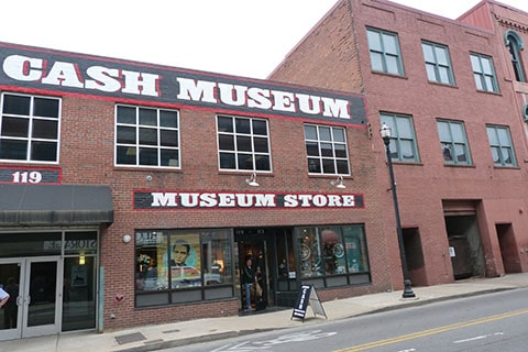 Johnny Cash museum Nashville