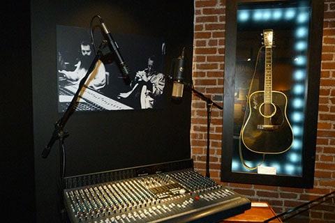 Johnny Cash sound desk